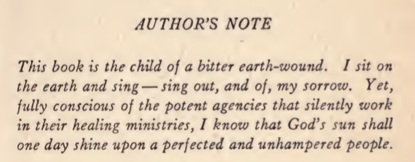 Johnson's Author's Note. Bronze. 1922.