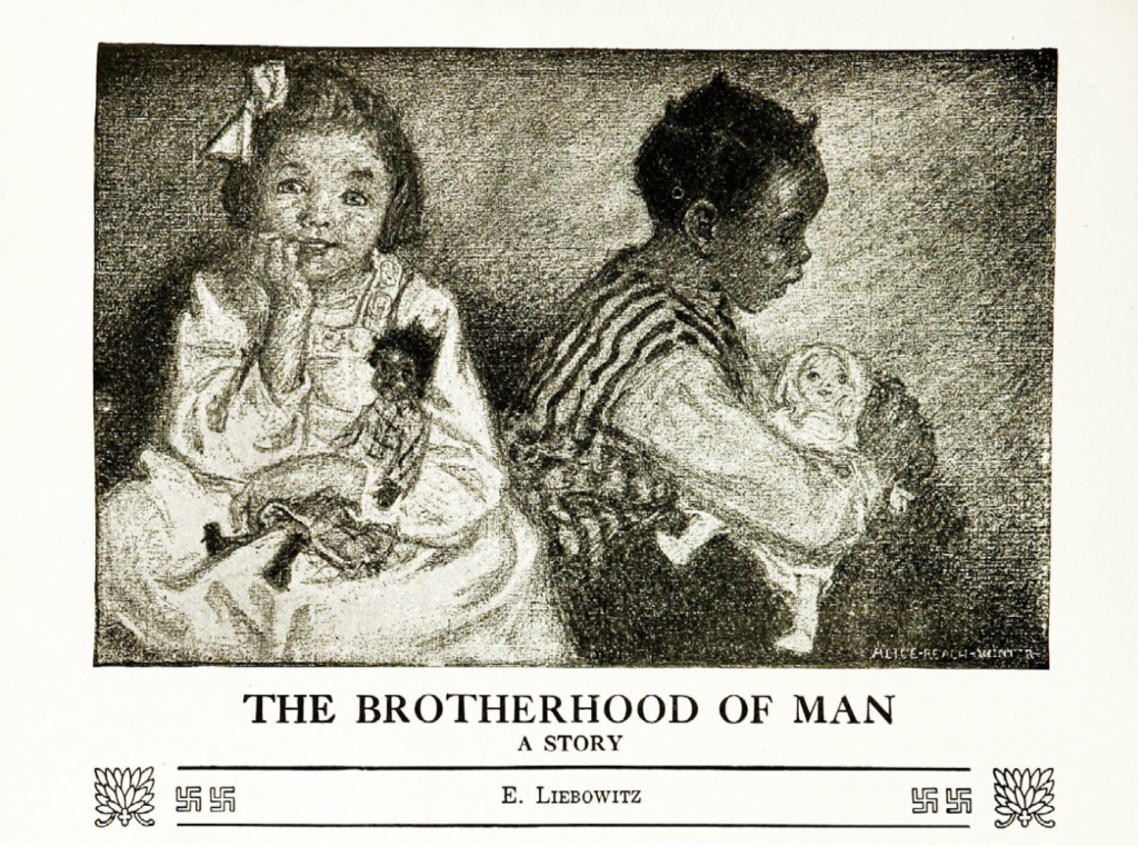 """The Brotherhood of Man."" E. Liebowitz. 1919."